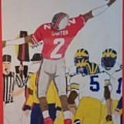 Cris Carter - Ohio State Poster