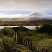 Croagh Patrick, County Mayo, Ireland Poster