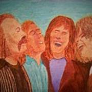 Crosby, Stills, Nash And Young Poster
