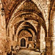 Rhodes, Greece - Cross Vault Poster