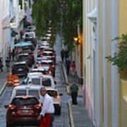 Crossing San Juan Poster
