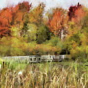 Crossing The Marsh Poster