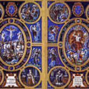 Crucifixion And Resurrection  Poster