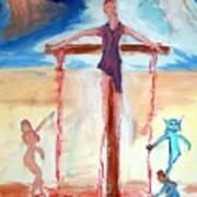 Crucifixion Of Jesus Poster