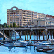 Cruiseport Boston Poster