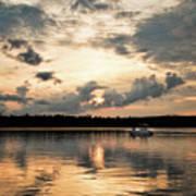 Cruising, Eagle Lake, Almaguin Highlands, Ontario Poster