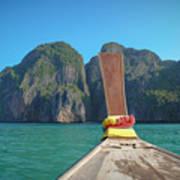 Cruising Maya Bay Poster
