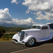 Cruizing Model A Ford Hot Rod Poster