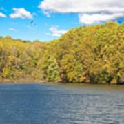 Crum Creek In Autumn Poster