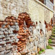 Crumbling Wall Poster