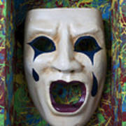 Crying Mask In Box Poster