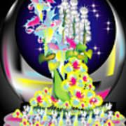Crystal Boquet II Poster