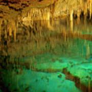 Crystal Cave Hamilton Parish Bermuda Poster