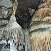Crystal Cave Portrait Sequoia Poster