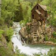Crystal Mill In July Poster