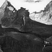Csontvary: Hight Tatras Poster