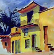 Cuban Architecture Poster