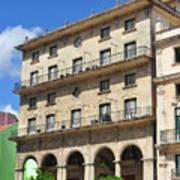 Cuban Building. Poster