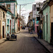 Cuban Street Poster