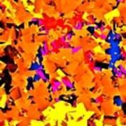 Cubist Tesseract Poster