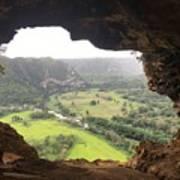 Cueva Ventana Poster