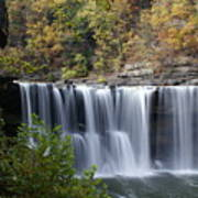 Cumberland Falls In Green Poster
