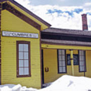 Cumbres Train Station Poster