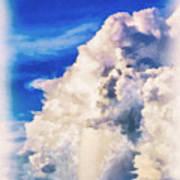 Cumulonimbu Over Tampa Bay Poster