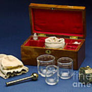 Cupping Set, London, England, C. 1865 Poster