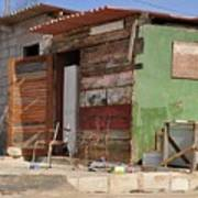Curacao Wooden Shack  Poster