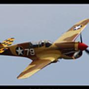 Curtis P-40n Warhawk Poster