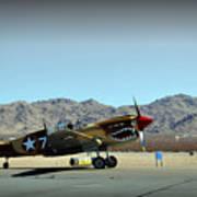 Curtis P40 Warhawk Poster