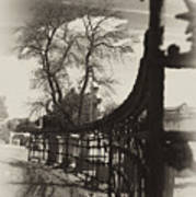 Curved Gate Poster by Scott  Wyatt