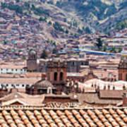 Cusco Cityscape Poster