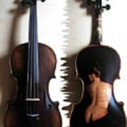 Custom Gliga Violin 2 Poster