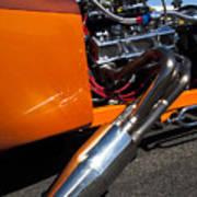 Custom Hot Rod Engine 2 Poster