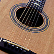 Custom Made Guitar Poster