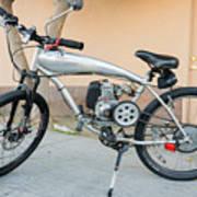 Custom Made Motor Bike Poster
