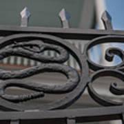 Custom Snake Gate Poster