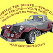 Custom Tee Shirts Poster