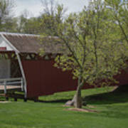 Cutler - Donahoe Covered Bridge - Madison County - Iowa Poster