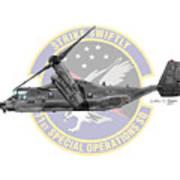 Cv-22b Osprey 71sos Poster
