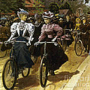 Cycling Fashions, 1895 Poster