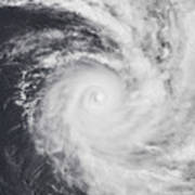 Cyclone Zoe In The South Pacific Ocean Poster