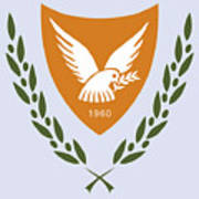 Cyprus Coat Of Arms Poster