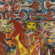 Cyprus Mosaic Poster