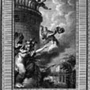 Daedalus And Perdix Poster