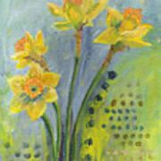 Daffodils II Poster