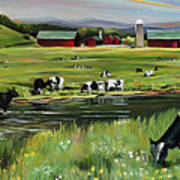 Dairy Farm Dream Poster