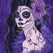 Daisy Day Of The Dead Poster
